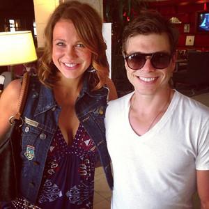 Matthew wearing shades. :)