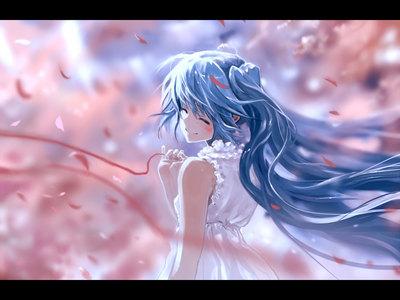 Currently, I'm using this वॉलपेपर of Hatsune Miku!~