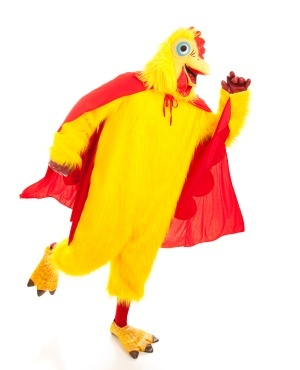 shit girl, didnt i tell u he prefers chicken suits??? im not kidding around. all the ladies ive seen him data look like they was fresh off the farm. chickens, overalls, brown bags... even seen a cow o two.... daniel hates dresses. wanna ruin his party and wear one, go ahead. this, however, is your ideal attire. u see, ive known him since he was a baby. his mother is my daughter, making me dans grandpa. know everything about him.