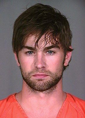 Chace Crawford in jail.