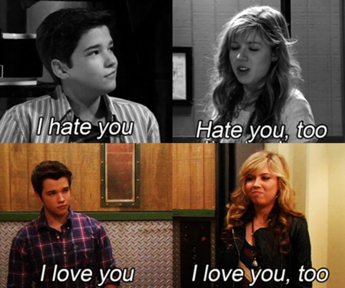 all time fav seddie , from iCarly