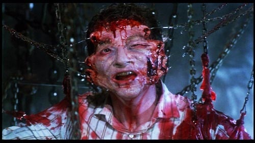 I just wanted to post something. I'm a horror 팬 so none of the gore bothers me. Anyways this is from Hellraiser