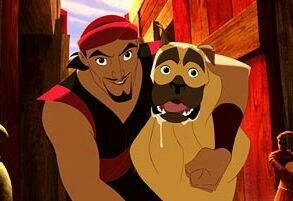 Sinbad, he was funny and a great character and a awesome fighter and plus he was also cute