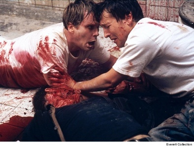 Cary Elwes and Leigh Whannel on Saw