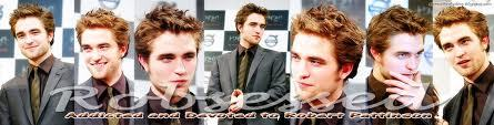 a banner of my handsome baby...and yes,I am Robsessed<3