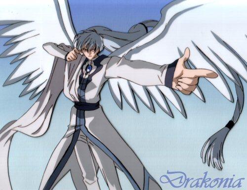 Yue (Cardcaptors) Yue the moon angel.........heh ehe he h