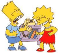 Bart and Lisa. :)