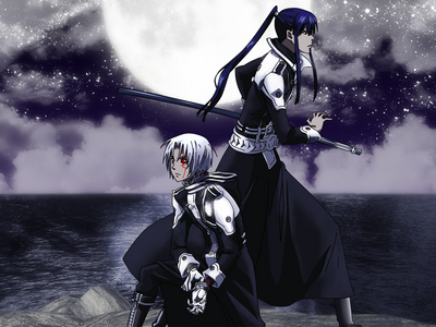 Kanda and Allen from D.Gray-Man. :3