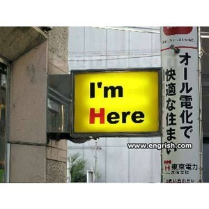 I'm here!!!!!!!!!! :D