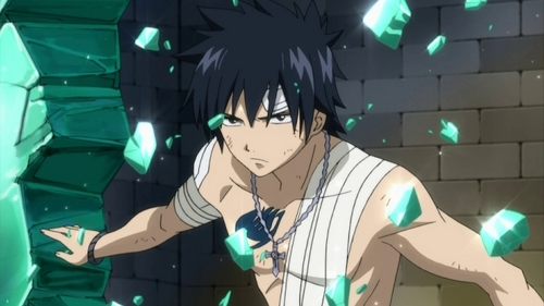 Currently, Gray Fullbuster from Fairy Tail
