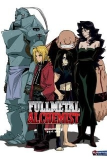 Fullmetal Alchemist(the 2003 version) has no romance except the last minutos of the last episode. My friend told me that Hunter X Hunter has no romance in it. However, I am not sure since I have not watched it yet.