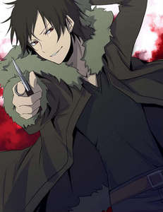 Izaya is obsessed with humans and says he loves all humans XD