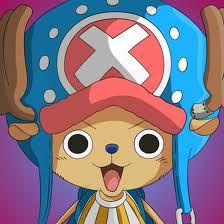 Tony Tony Chopper (One Piece) He is a talking reindeer...........isnt he cute.........heh heh heh
