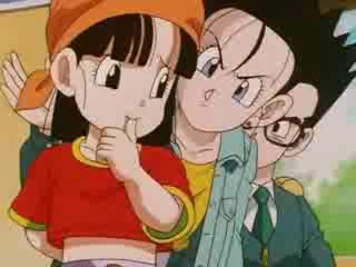 Dragon Ball does not really have any love. But, I have seen a few scenes with romance between Gohan & Videl