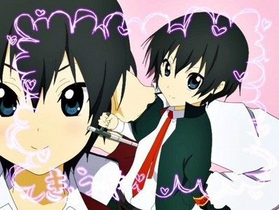 Hibari Kyoya<3 because he's just unique in every way X3 Here's my sweety in K-ON! mode~