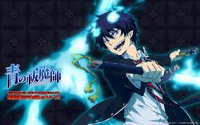 Rin from Ao No Exorcist. Because he's a awesome half demon and half human dude. he's also a bad a