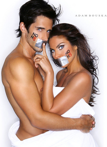 Brandon Beemer and girlfriend Nadia Bjorlin.