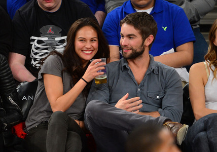 Chace Crawford and Rachelle Goulding.