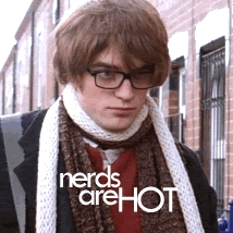 I find this nerd totally HOT!!!!!!!!!!!!!<3