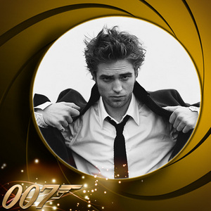 my sexy babe would be a perfect James Bond.He's British.He drives fast cars...and the ladies Amore him<3