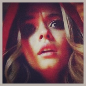 Alison, she is A. But known as Red Coat. She is revealed to be alive while saving the liars from a fire in the fourth season.
