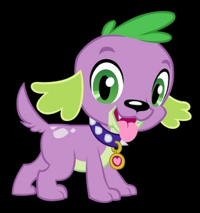 awwwww~ Spike is just so cute as a puppy~ so much better than his old dragon self~!! x3 who's a good puppy~ you're a good puppy~ yes আপনি are~ oh,yes আপনি are~!! http://matrixchicken.deviantart.com/art/Spike-the-Dog-358938638 (not that much pics. yet cause the movie just showed in theaters on 6-16-2013 were waiting for the DVD release!)