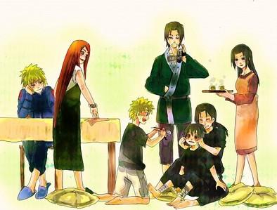 Uchiha and Uzumaki families! =)
