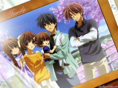 Okazaki family from Clannad.