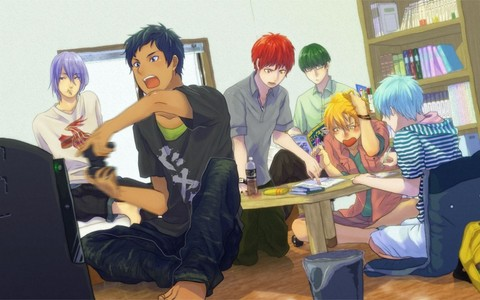 ...because the Kiseki no Sedai is nothing less than a family <3