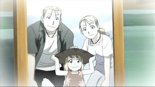 The Rockbell family (Fullmetal alchemist).