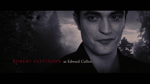 my handsome Robert as my fave male character and the sexiest vampire ever,Edward Cullen<3