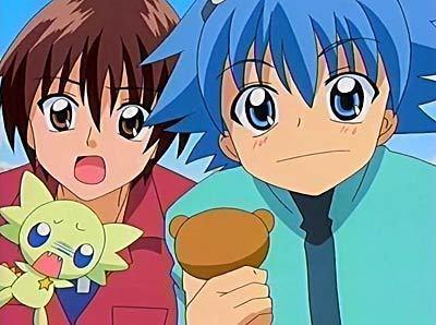Ichii and Zero from Mamotte Lollipop