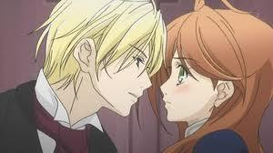 First Anime that pops in my mind is Earl and Fairy! Edgar captures Lydia to help him find something only she can look for, since she can see fairies. Anyways eventually they both fall in Amore with each other.
