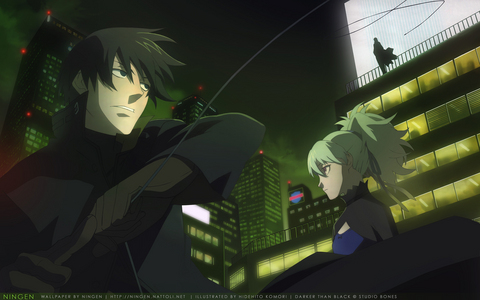 Actually I just finished Steins;Gate and I just started Darker Than Black and I am loving it, even though I've only watched one episode X)