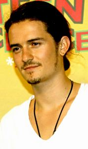 my 2nd fave British babe,Orlando Bloom with an earring<3
