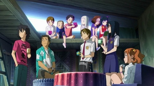 Anohana: The 花 We Saw That 日