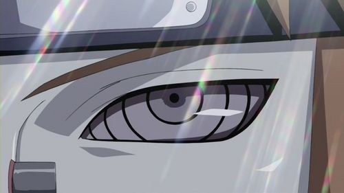 Pein's rinnegan eyes are pretty unusual, and really cool :)
