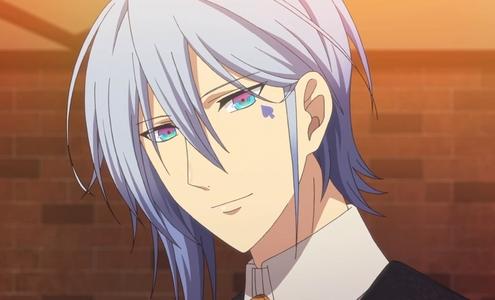 Ikki from Amnesia has rather strange eyes.
