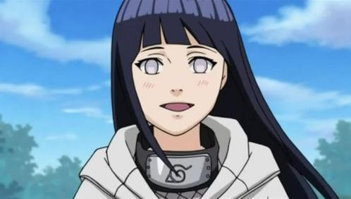 The Hyuga's eyes (Naruto) are unusual. The picture is of Hinata Hyuga.