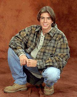 Teen Matthew wearing a checker shirt. :)