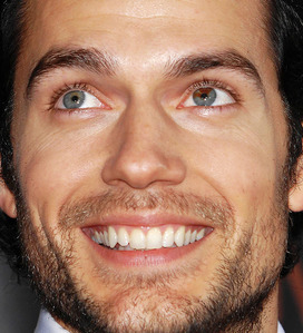 Different but cool ♥ Henry Cavill!