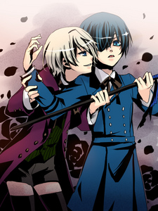 i think most of  the reason Alois acts the way he does toward  Ciel, has to do with jealousy. 