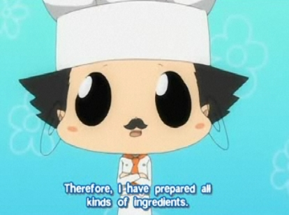 Reborn from KHR! dressed as a Chef