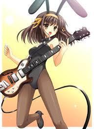 Haruhi in her bunny suit :3