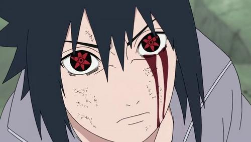 shippuden eyes Naruto sasuke