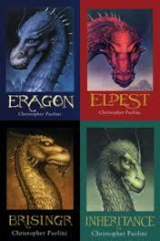 If you like magic, I'd recommend the Inheritance Cycle by Christopher Paolini. (Eragon, Eldest, Brisingr, and Inheritance.) It has a little romance but not any that really keep you on the edge of your seat. A really good romantic one would be the Vampire Academy series by Richelle Mead. (Vampire Academy, Frostbite, Shadow Kiss, Blood Promise, Spirit Bound, and Last Sacrifice.) Even that series has a little bit of magic, and a Lot of Romance. My sister recommended it to me.