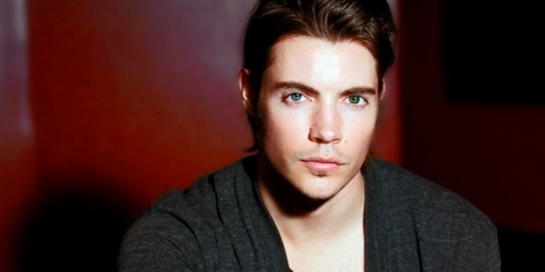 Josh Henderson - One is blue,the other is green :)