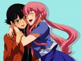 Yuno Gasai and Yukiteru Amano from Mirai Nikki. When I was watching the series, I was just hoping for their death.