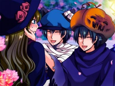 Alice's halloween in the country of hearts! :D