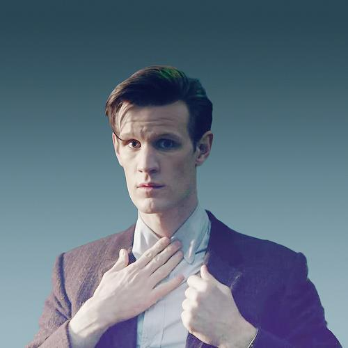 The Doctor without his bow tie.